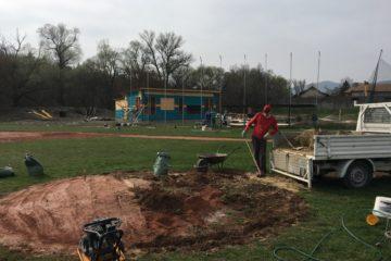Field Maintenance Works  – spring 2017